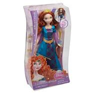 The Disney Princess Colourful Curls Merida doll