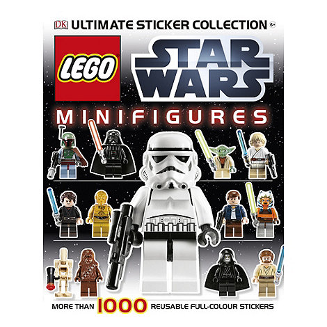 LEGO - Star Wars sticker book