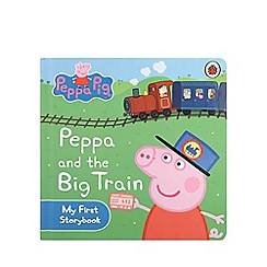 Peppa Pig - Peppa and the big train story book