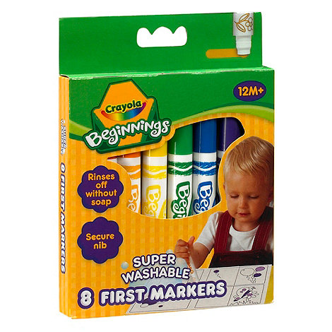 Crayola - 8 Beginnings First Markers
