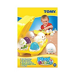 Tomy - Play to Learn' hide and squeak eggs