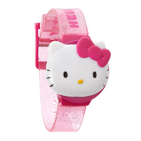 Hello Kitty - LCD flip watch