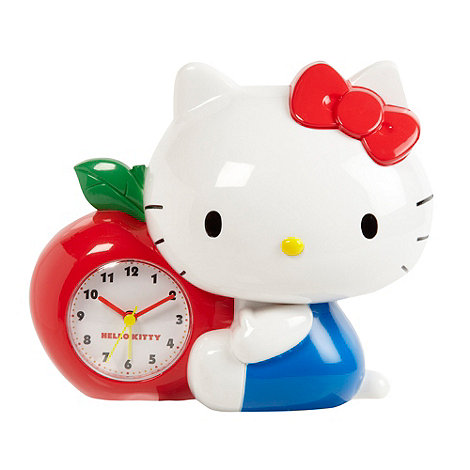 Hello Kitty - Red alarm clock