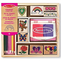 Melissa & Doug - Friendship stamping set
