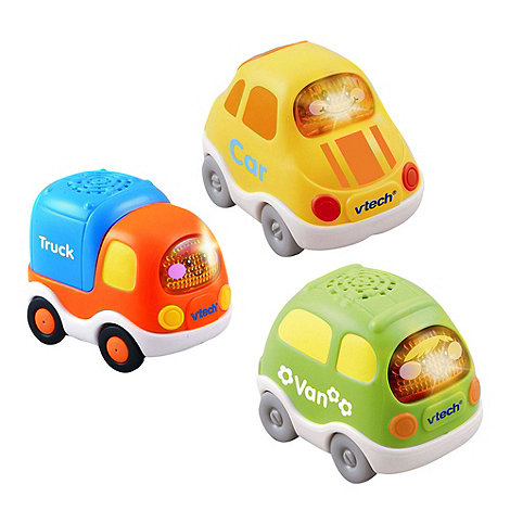 VTech - Toot drivers three pack everyday vehicles