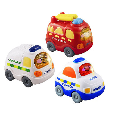 VTech - Toot drivers three pack emergency vehicles
