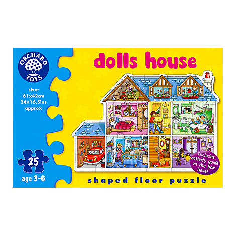 Orchard Toys - Dolls house floor puzzle