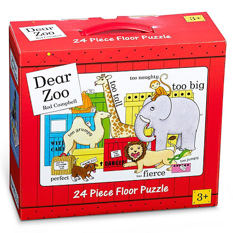 Paul Lamond Games - Dear Zoo floor puzzle