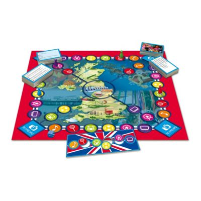 Tactic UK Trivia Junior board game