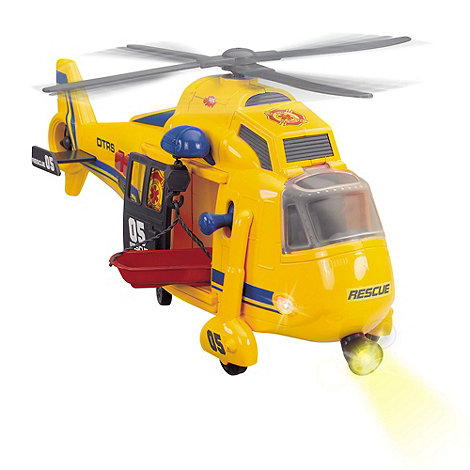 Dickie - Yellow helicopter