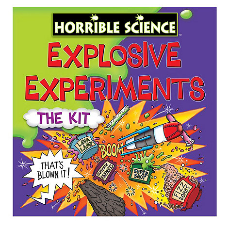 Horrible Science - Explosive experiments set