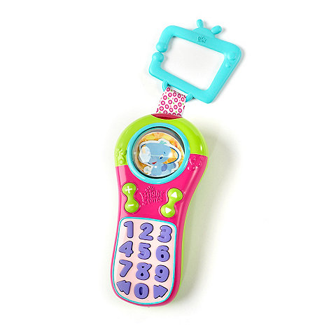 Bright Starts - Pink click and giggle remote