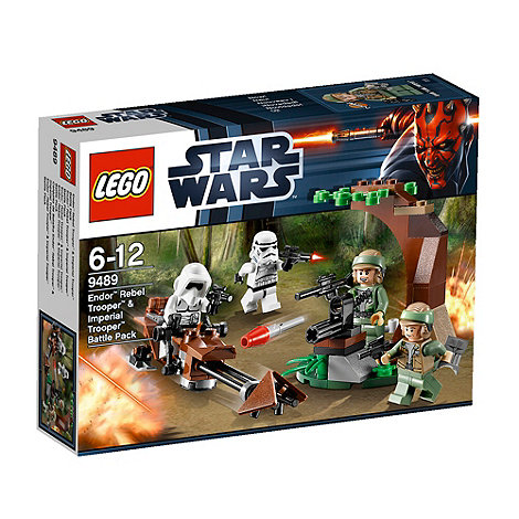 LEGO - Star Wars TM Endor Rebel Trooper & Imperial Trooper - 9489