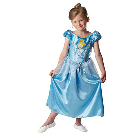 Disney Princess - Girl+s blue Cinderella costume