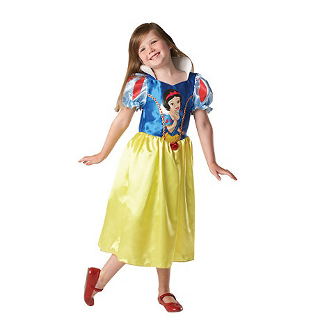 Disney Princess - Girl+s blue Snow White costume