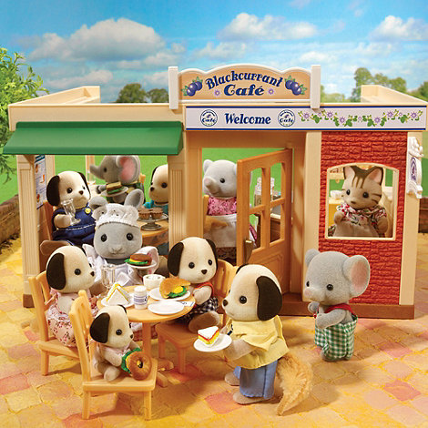 Sylvanian Families - Blackcurrent cafe
