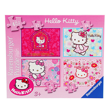 Hello Kitty - 4 in a box puzzle