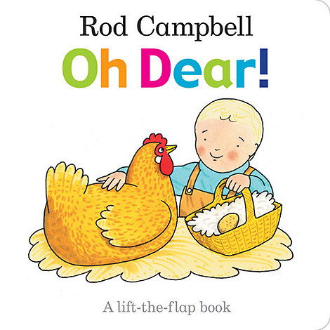 MacMillan books - Oh dear board book