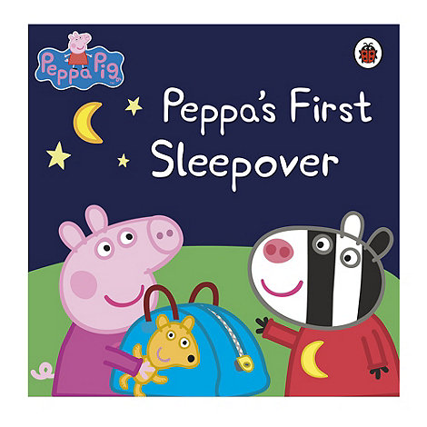 Peppa Pig - First sleepover storybook