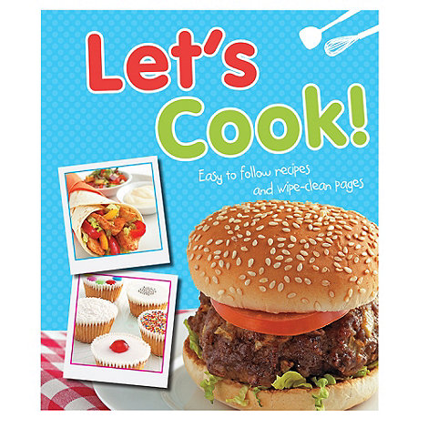 Parragon - Let+s Cook book