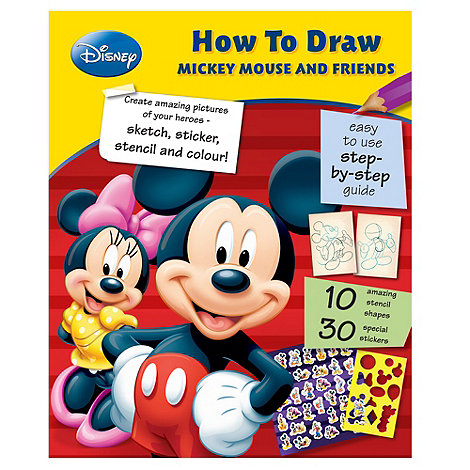 Disney - How to Draw Mickey Mouse