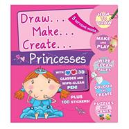 3D Activity Folders - Princess