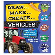 3D Activity Folders - Vehicles