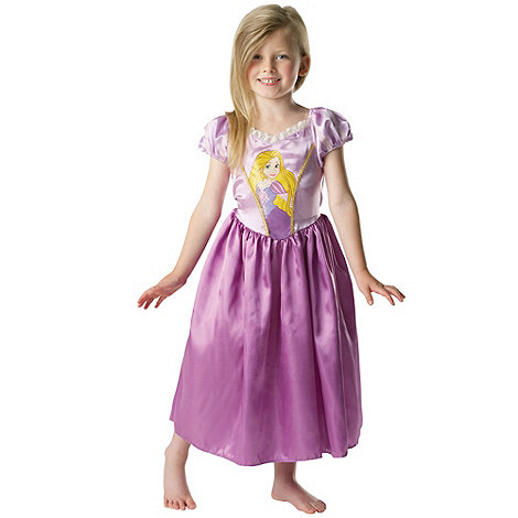 Disney Princess - Girl+s pink Rapunzel costume