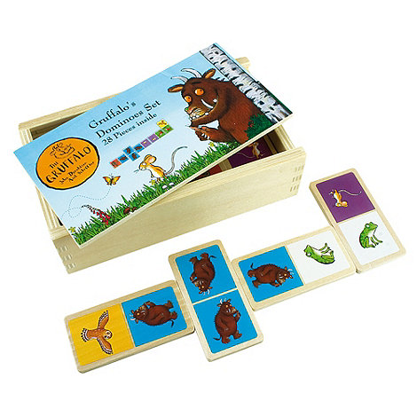 The Gruffalo - Wooden dominoes