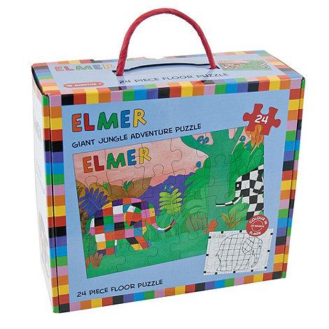 Elmer - 24 piece floor puzzle