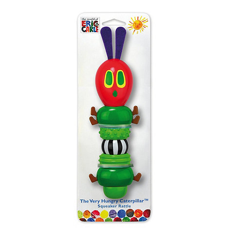 The Very Hungry Caterpillar - Squeaker rattle