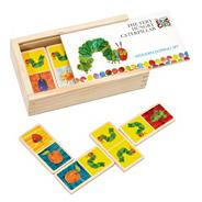 Hungry Caterpillar wooden dominoes