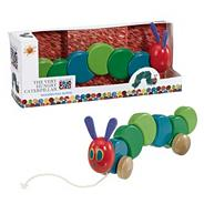 Hungry Caterpillar wooden pull along