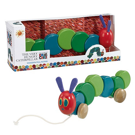 The Very Hungry Caterpillar - Wooden pull along