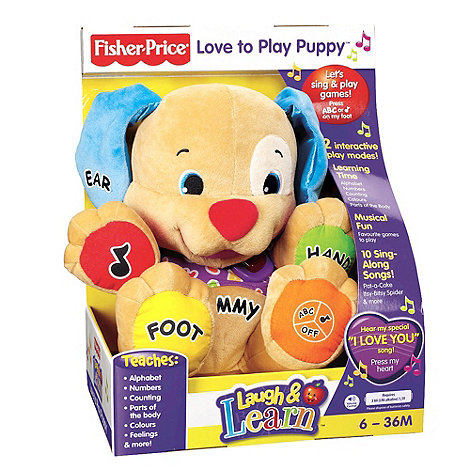 Fisher-Price - Love to Play Puppy
