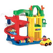 Little People Racing Ramps Garage playset