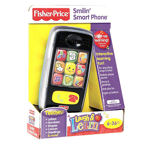 Fisher-Price - Smilin Smart Phone