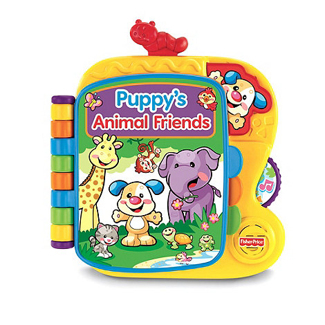 Fisher-Price - Puppy+s Animal Friends Book