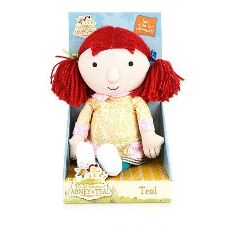 Abney & Teal - Teal Rag doll