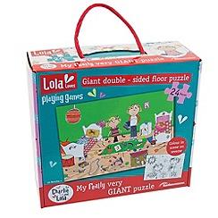 Charlie & Lola - 24 piece floor puzzle