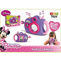 Minnie Mouse Bow-Tique - Pretend Camera