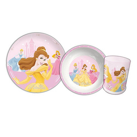 Disney Princess - Tumbler, Bowl & Plate Set