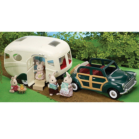 Sylvanian Families - The Caravan and Family Car