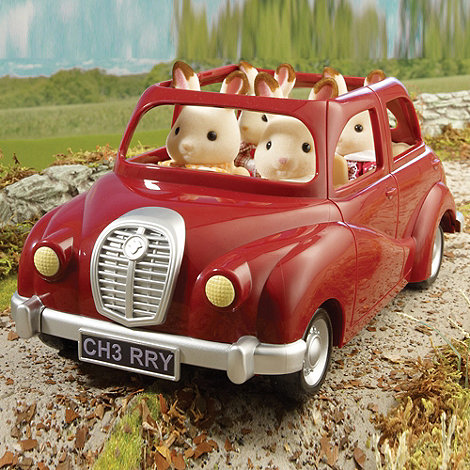 Sylvanian Families - Red Saloon Car