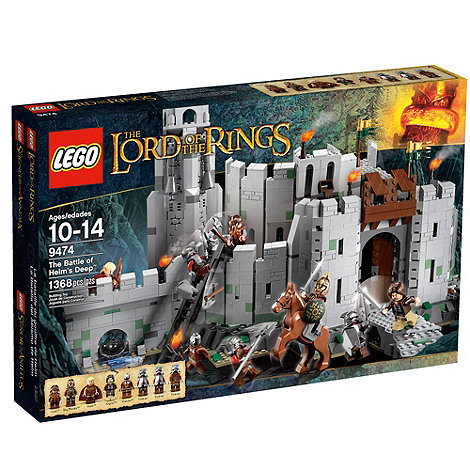 LEGO - The Lord of the Rings The Battle of Helm+s Deep - 9474