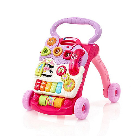 VTech Baby - First steps baby walker pink