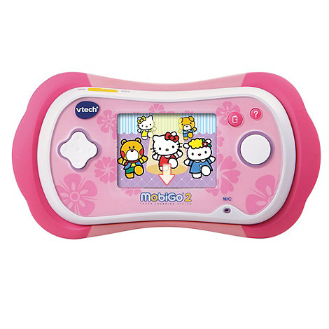 VTech - MobiGo 2 Touch Learning System Pink with Hello Kitty