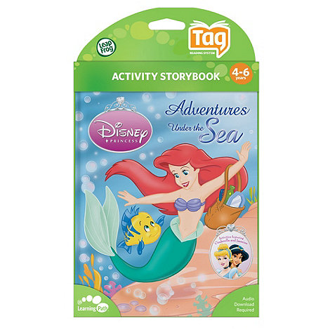 LeapFrog - Tag  Activity Storybook Disney Princess: Adventures Under the Sea