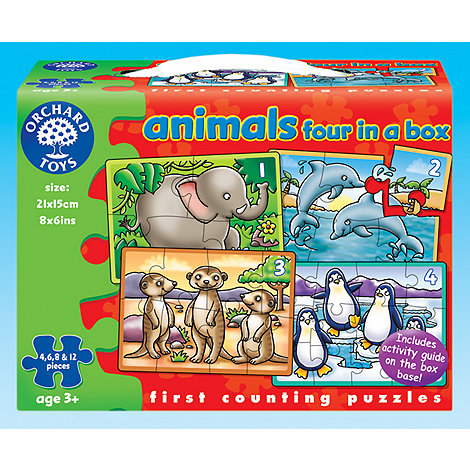Orchard Toys - Animals Four in a Box