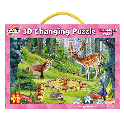 Galt - 3D Changing Puzzle - Enchanted Wood